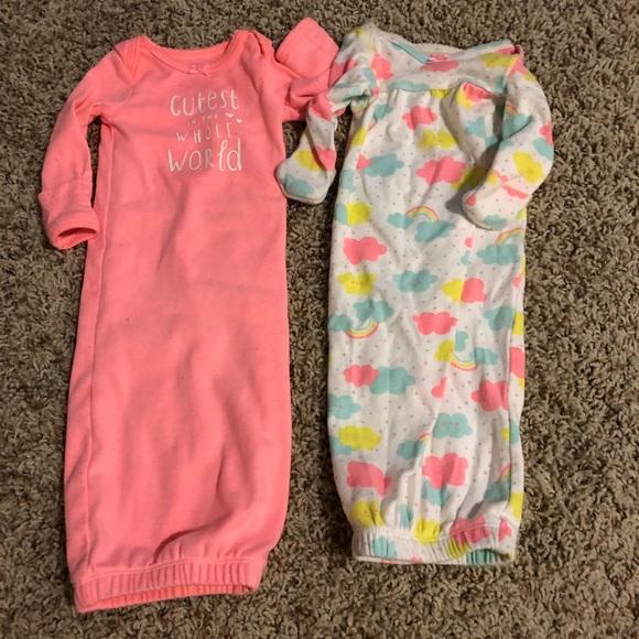 Carter\'s Pajamas | Carters Infant Girl Night Gowns | Poshmark